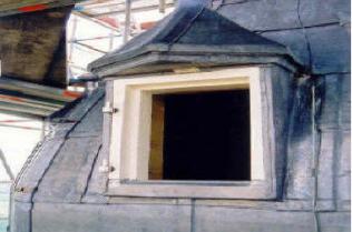 Kerktoren renovatie Laroes Zeeland